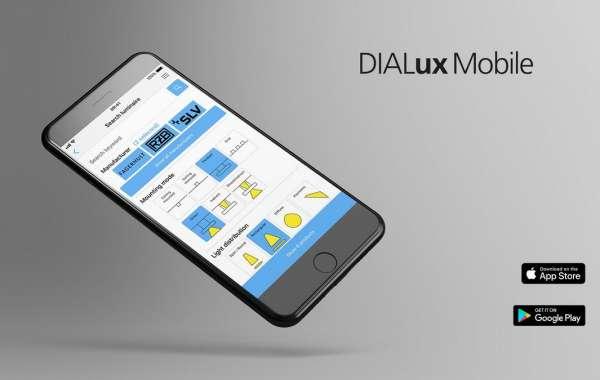 DIALux Mobile - для быстрого расчета освещения